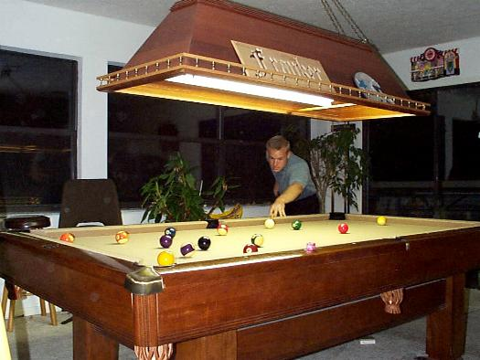 Charming Pool Table Light Plans